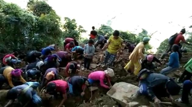 A team of geologists is expected to reach the village on November 30 or December 1.