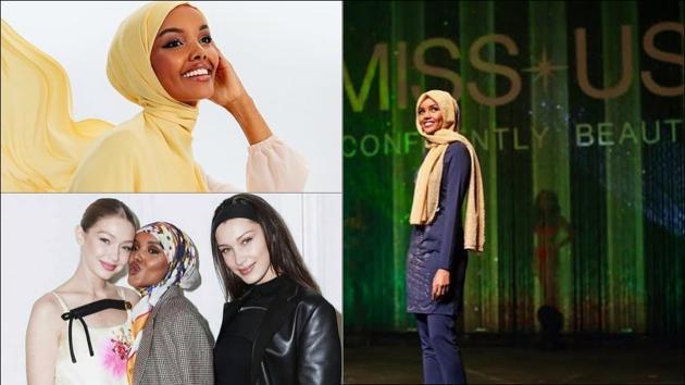 Halima Aden quits fashion industry, Rihanna-Bella Hadid-Gigi Hadid support(Instagram/halima)