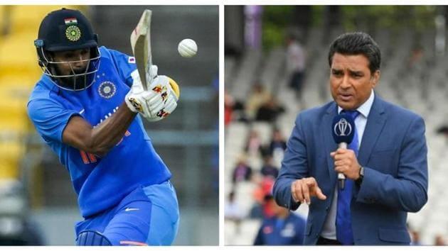KL Rahul and Sanjay Manjrekar.(AP/Getty)