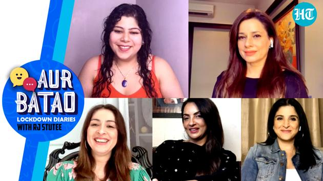 In the latest episode of 'Aur Batao', RJ Stutee speaks to Neelam Kothari Soni, Bhavana Pandey, Maheep Kapoor and Seema Khan on their Netflix release, The Fabulous Lives of Bollywood Wives. Aur Batao is not your regular photoshopped chat show but makes hanging out with celebs a different (and fun) ballgame. Watch the full video for more.