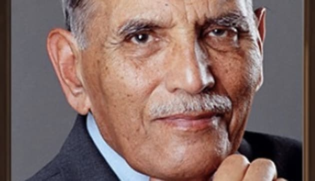 Faqir Chand Kohli popularly referred to as the 'father of India's IT industry' passed away on Thursday at the age of 96(TCS on Twitter)