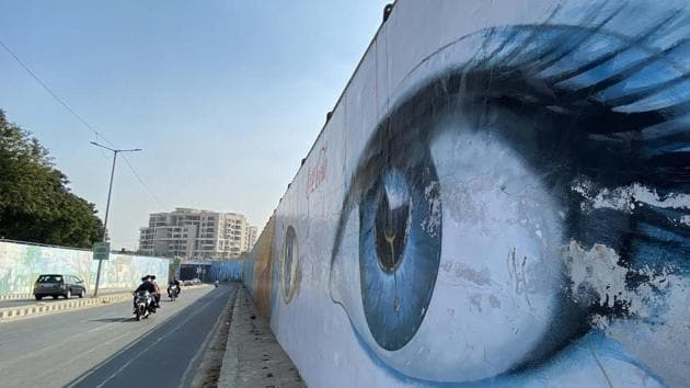 Ahead of Swachh Survekshan 2021, the civic body has decided to revive the graffiti project in Ludhiana for which NGOs are also being roped in.(HT photo)