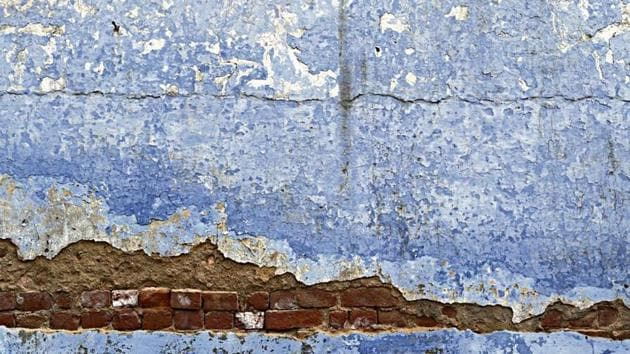 The wall's beauty is particularly poignant because it is unintentional(Mayank Austen Soofi)
