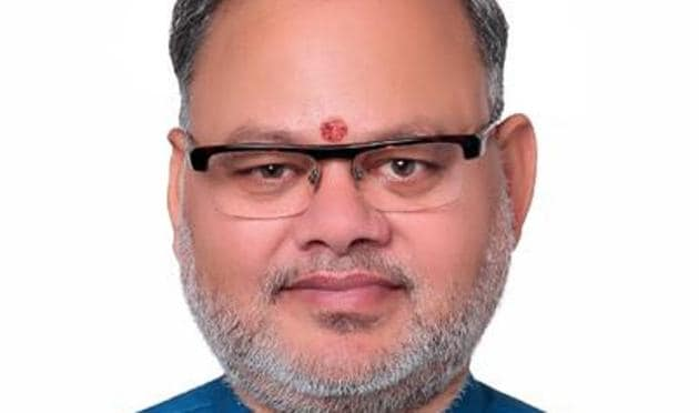 Suresh Bhatt has been appointed as the general secretary of the BJP unit in Uttarakhand.(SOURCED.)