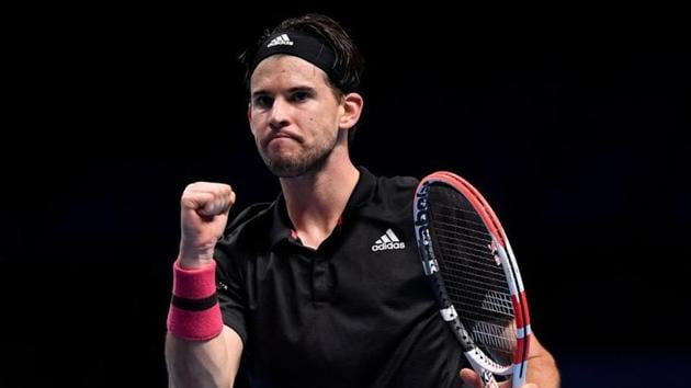 Tennis - ATP Finals - The O2, London, Britain - November 22, 2020 Austria's Dominic Thiem reacts during his final match against Russia's Daniil Medvedev REUTERS/Toby Melville(REUTERS)
