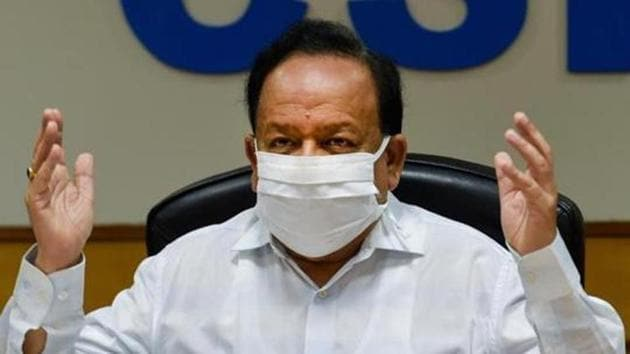 Union health minister Dr Harsh Vardhan.(File photo)
