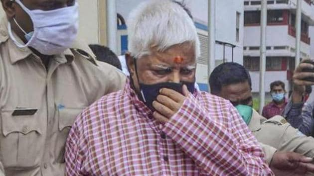 Lalu Prasad was shifted from the paying ward of Rajendra Institute of Medical Science (RIMS) to the director's bungalow on August 5.(PTI)