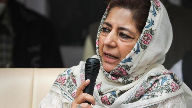 Peoples Democratic Party president Mehbooba Mufti.(PTI File)