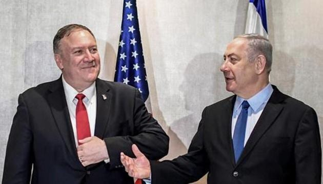 Pompeo said that the US no longer agrees with the 1978 State Department legal opinion on occupied territories.(REUTERS)
