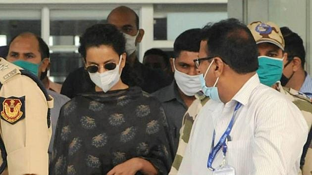Bombay high court said Kangana Ranaut can claim compensation for the damage done to her office by BMC. (Hindustan Times)
