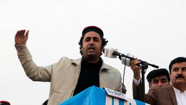 Pakistan's leading opposition politician Bilawal Bhutto Zardari said on Thursday he has tested positive for the coronavirus(AFP)