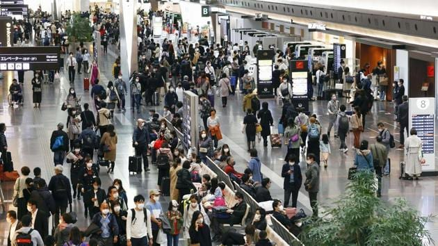 On Friday, Suga urged travellers to refrain from using the program for trips originating in Sapporo and Osaka, areas badly hit by the current virus wave.(AP file photo)