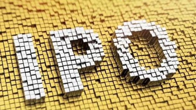Pixelated acronym IPO made from cubes, mosaic patternBurger King India's IPO price band is 5.9-6 times of its face value of equity shares and the company aims to raise Rs 810 crore via its public issue, at a higher price band.(iStock)