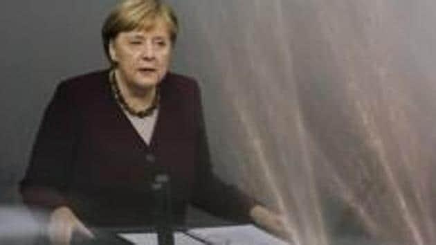 German Chancellor Angela Merkel.(AP file photo)