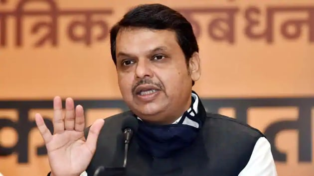 Former chief minister of Maharashtra and Bharatiya Janata Party (BJP) leader Devendra Fadnavis(Parwaz Khan/HT File Photo)