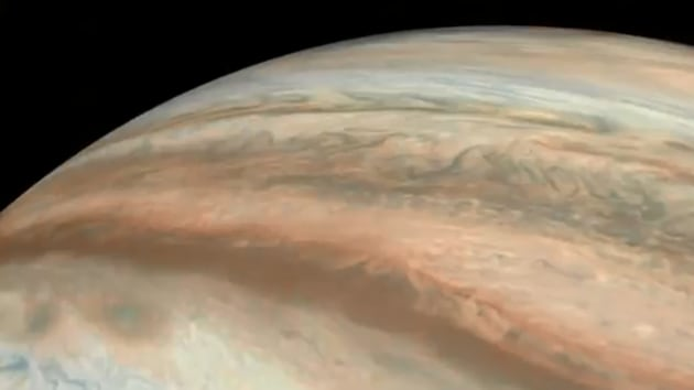 Image of Jupiter captured by Nasa's Juno Mission (representational image).(Twitter/@NASAJPL)