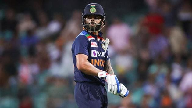 Virat Kohli last scored an ODI century in August 2019.(Getty Images)