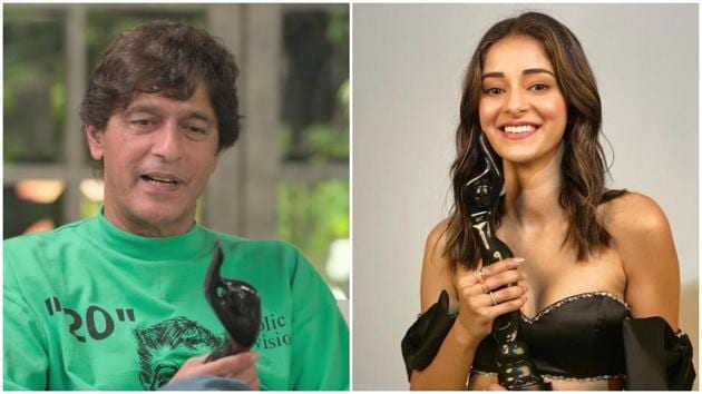 Chunky Panday is proud of daughter Ananya for bringing the Filmfare Award home.