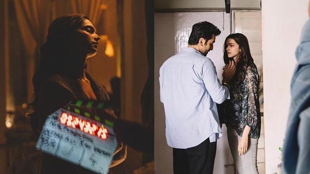 Deepika Padukone and Ranbir Kapoor in stills from Tamasha.