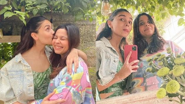 Alia Bhatt and sister Shaheen seem to have had a lot of fun on latter's birthday on Saturday.