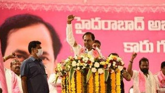 The TRS president said the BJP was targeting him because he was questioning its policies. (Photo@TelanganaCMO)