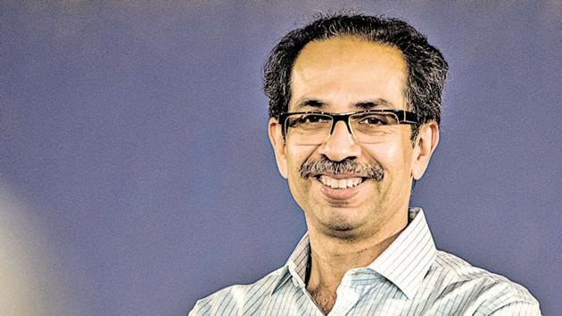 CM Uddhav Thackeray said he was satisfied that the people of Maharashtra consider him a part of their family.(Aalok Soni/HT File Photo)
