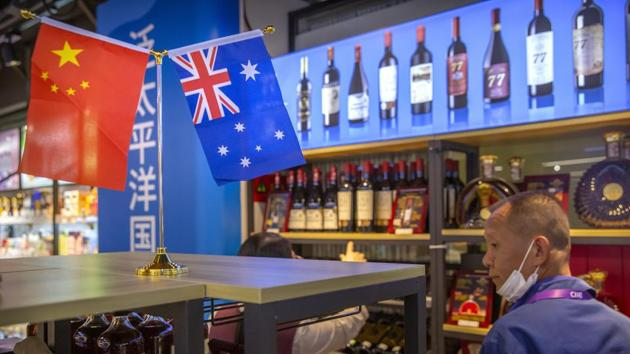 In another move that will unnerve Australian exporters, China will impose anti-dumping duties of more than 100% on Australian wine from this weekend(AP)