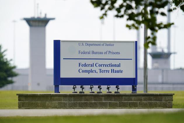 The federal prison complex in Terre Haute, Ind.(AP File Photo)