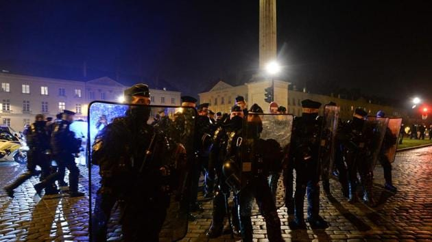 In Paris, the authorities had demanded that organisers limit the rally to a single location, but on Friday evening officials authorised a march.(AFP Photo)