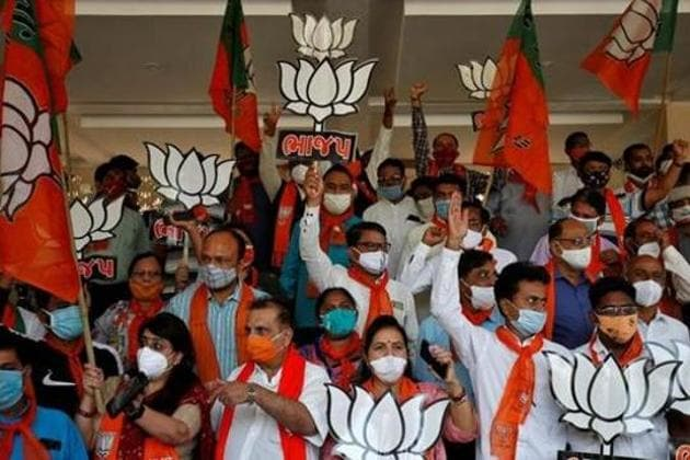 The appointments had been made keeping 2022 UP assembly elections in mind, BJP leaders said.(REUTERS FILE)