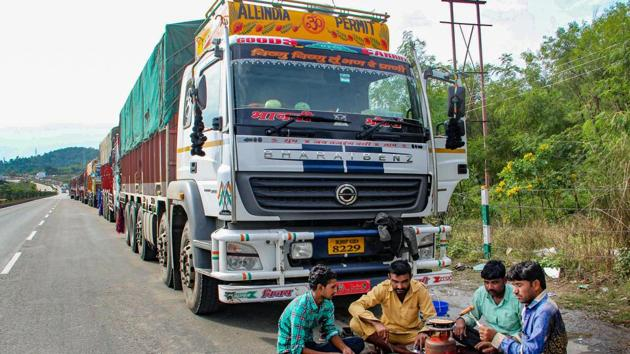 The highway blockade started on November 15 and has continued since then except a brief suspension on November 25.(PTI Photo/.Representative/File)