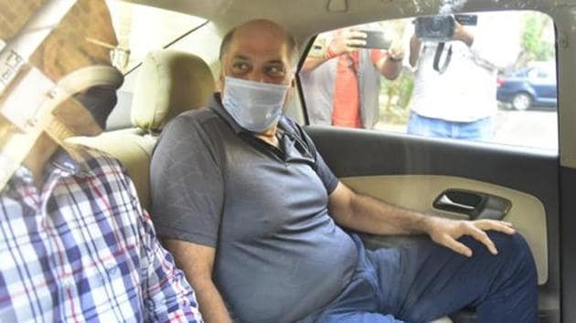 Cox and Kings' promoter Peter Kerkar is currently in the custody of the Enforcement Directorate in a money laundering case.(Anshuman Poyrekar/HT Photo)
