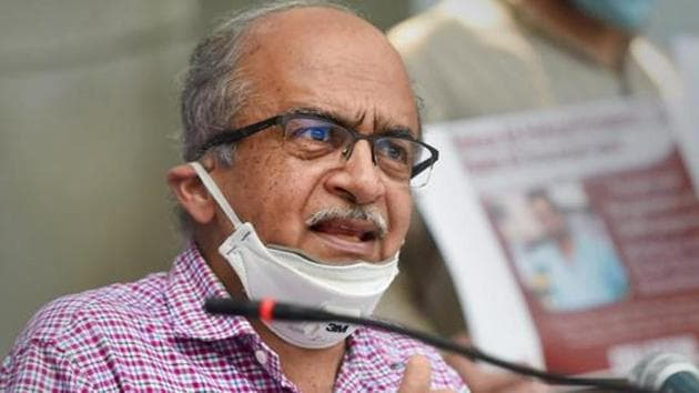 """Though Venugopal termed Bhushan's earlier tweet about the CJI as """"wholly unwarranted, improper, devoid of legal basis and prima facie contumacious"""", he declined the consent considering the regret expressed in his later tweet.(PTI)"""