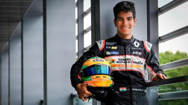 Racing Driver - Jehan Daruvala(Dirk Bogaerts)
