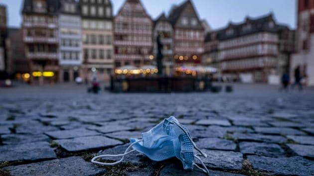 """Germany imposed a """"lockdown light"""" in early November, which closed bars and restaurants but allowed schools and shops to stay open.(AP file photo)"""