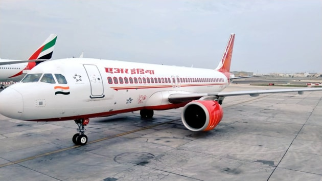 Under the Vande Bharat mission, an Air India flight from Bahrain to Chennai departed from Bahrain International Airport on Sunday, informed the Indian Embassy in Bahrain.(Image via Twiter)