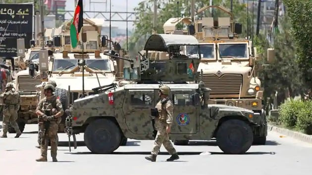 At least 26 security personnel were killed in a suicide car bomber in Afghanistan on Sunday(Reuters file photo)