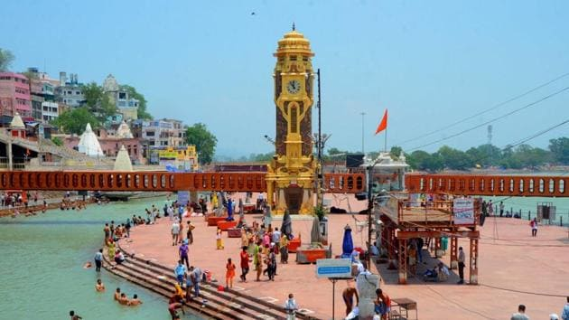 Mahakumbh prep is also ushering in development, infrastructural projects, amenities and facilities both on a permanent and temporary basis.(HT Photo)