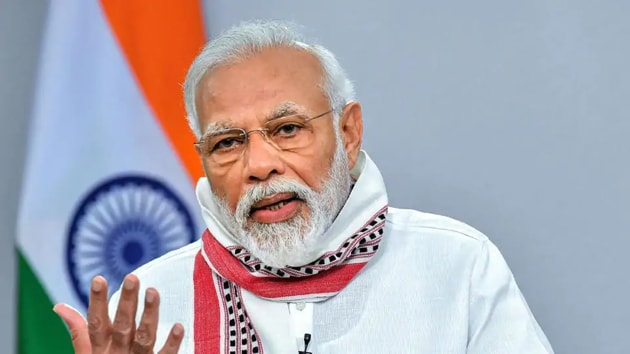 The culture and scriptures of India have always been a centre of attraction for the whole world and people who came to visit our country returned to theirs as ambassadors of Indian culture, PM Modi said on Mann Ki Baat.(PTI)