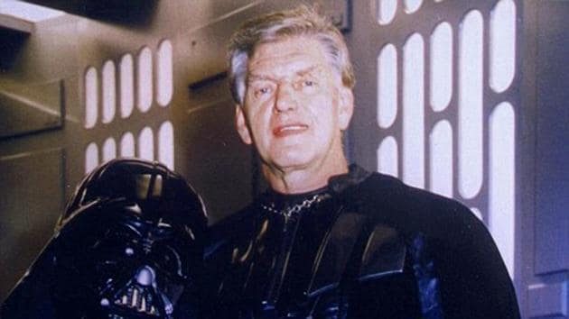 Dave Prowse was chosen to be Darth Vader for his impressive physique.