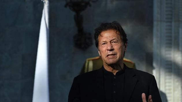 Pakistan's Prime Minister Imran Khan tried to persuade the OIC to let it hold a side event on Kashmir when preparations for the 27-28 November OIC foreign ministers were still underway.(AFP)