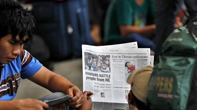 The Press Council of India, in its advisory, said it has considered references received from various quarters by the government about the responsibility of Indian newspapers in publishing foreign contents.(AP Photo)