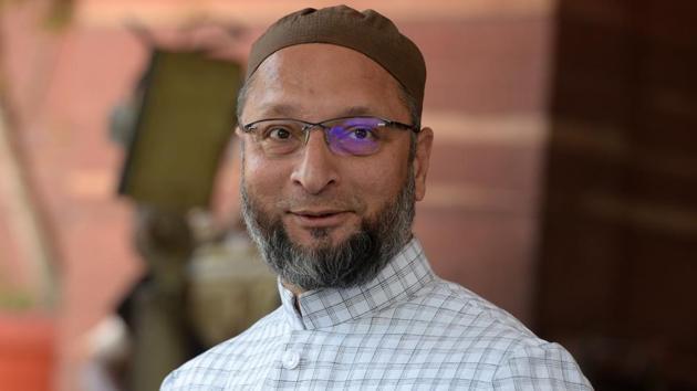 File photo of AIMIM MP Asaduddin Owaisi.(Mohd Zakir/HT Photo)