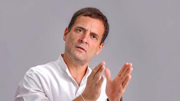 The Congress leader, who has consistently attacked the government on his Twitter on topics ranging from economy to laws and policies, had recently said the Indian economy is in recession for the first time under PM Modi.(PTI)