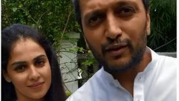 Genelia D'Souza and Riteish Deshmukh tied the knot in 2012.