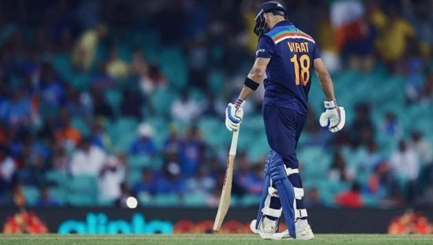 Photo of Indain captain Virat Kohli(Twitter)