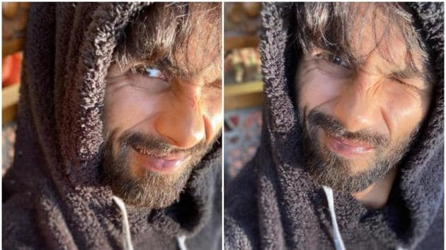 Shahid Kapoor has been shooting for Jersey in the last few months.