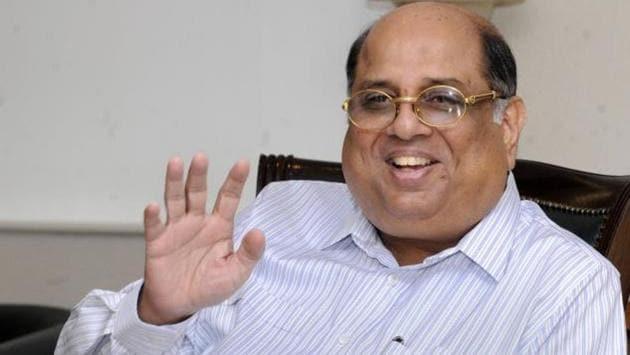 Photo of Former Indian Olympic Association president N Ramachandran(Twitter)