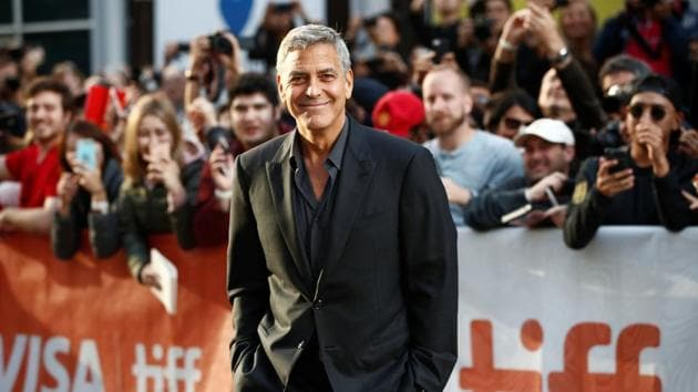 Actor George Clooney said he does his own haircuts with a device famously touted in infomercials.(REUTERS)