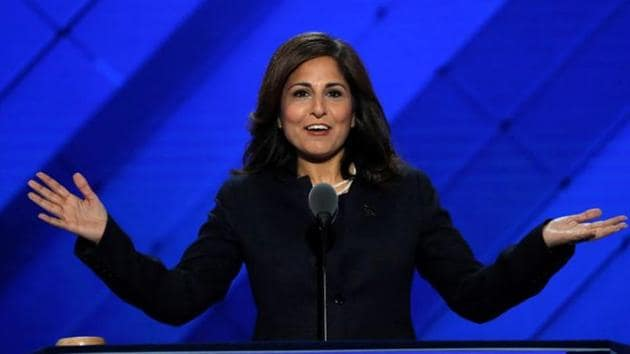 Center for American Progress Action Fund president Neera Tanden speaks at an event on July 27, 2016.(Reuters File Photo)